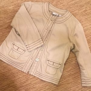 Chico light denim/khaki jacket